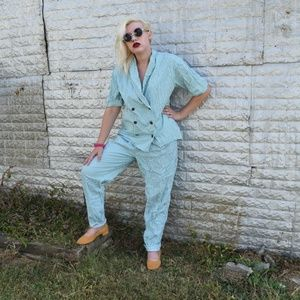 Birch Bros Pants Suit